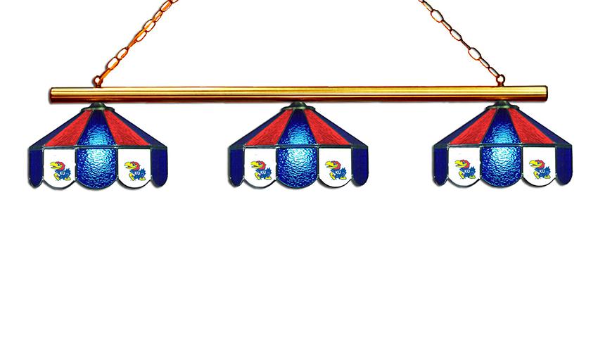 Kansas University Hanging Lamps