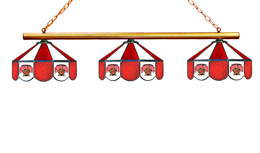 University of Maryland Hanging Lamps