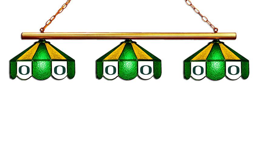 University of Oregon Hanging Lamps