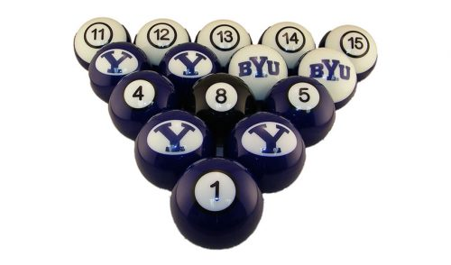 Brigham Young Billiard Ball Set