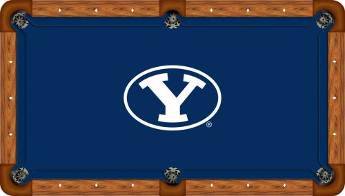 Brigham Young Logo Billiard Cloth