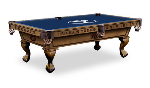 Brigham Young Pool Table ($3,999 - $4,599)