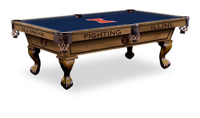 University of Illinois Pool Table