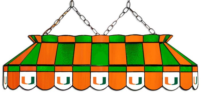 University of Miami Hanging Lamps