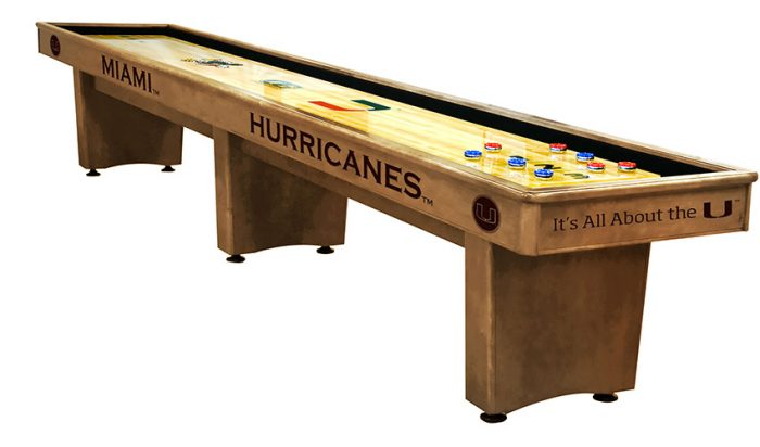 University of Miami Shuffleboard ($3,999 - $7,099)