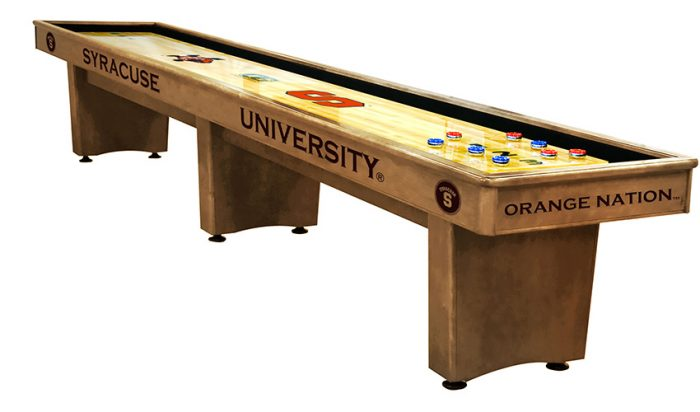Syracuse University Shuffleboard ($3,999 - $7,099)