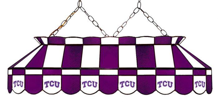 Texas Christian University Hanging Lamps