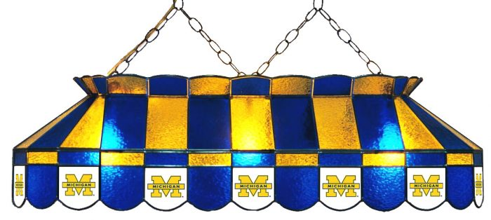University of Michigan Hanging Lamps