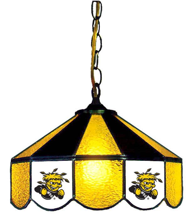 Wichita State University Hanging Lamps