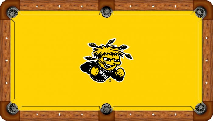 Wichita State University Logo Billiard Cloth