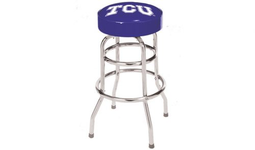 Texas Christian University Bar Stool
