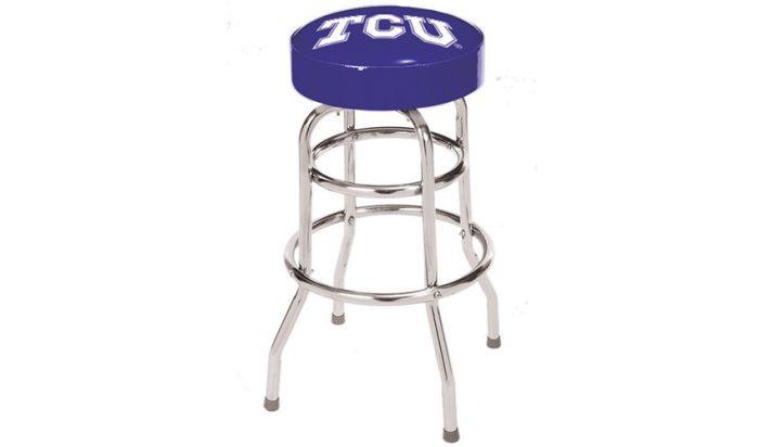 Texas Christian University Bar Stool