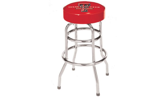 Texas Tech University Bar Stool