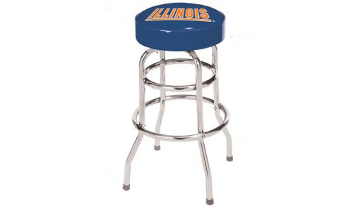 University of Illinois Bar Stool