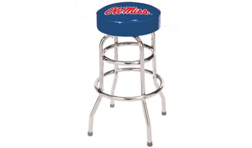 University of Mississippi Bar Stool