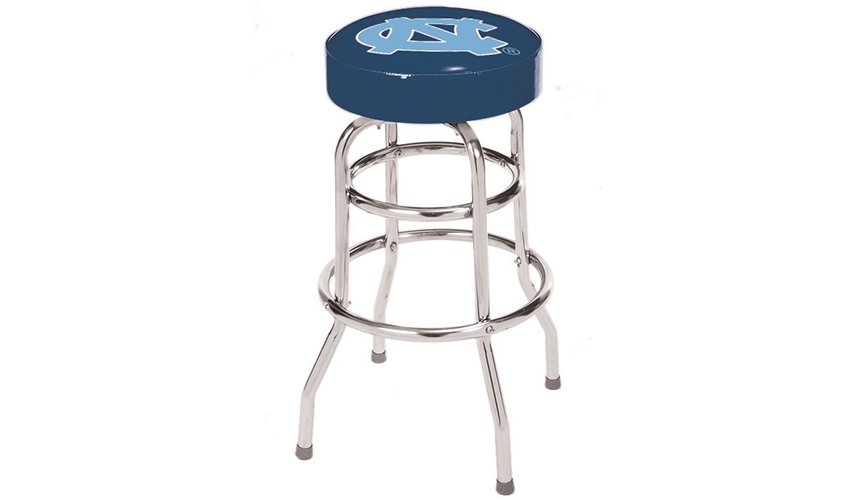 Stupendous University Of North Carolina Bar Stool Unemploymentrelief Wooden Chair Designs For Living Room Unemploymentrelieforg