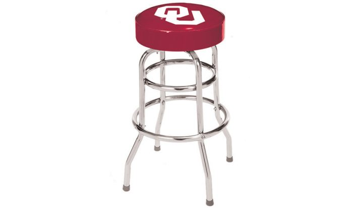 University of Oklahoma Bar Stool