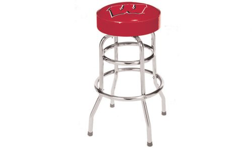 University of Wisconsin Bar Stool