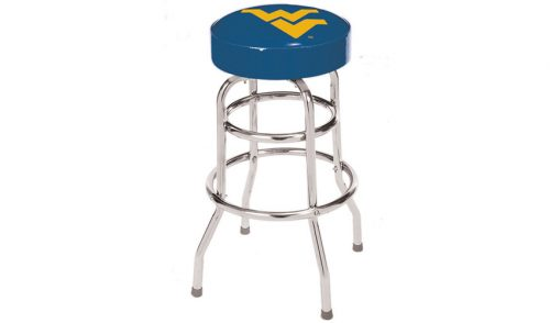 West Virginia University Bar Stool