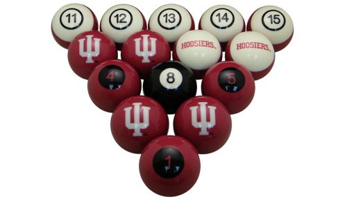 Indiana University Billiard Ball Set