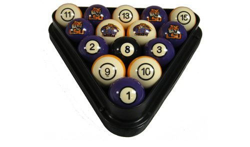 Louisiana State University Billiard Ball Set