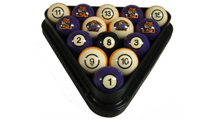 Louisiana State University Billiard Ball Set