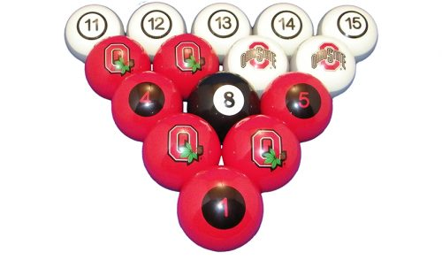 Ohio State University Billiard Ball Set