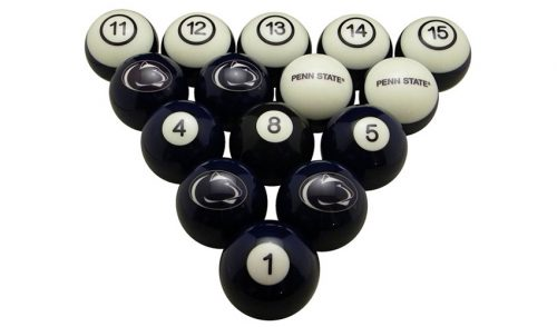 Pennsylvania State University Billiard Ball Set