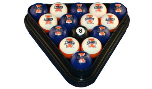 University of Illinois Billiard Ball Set