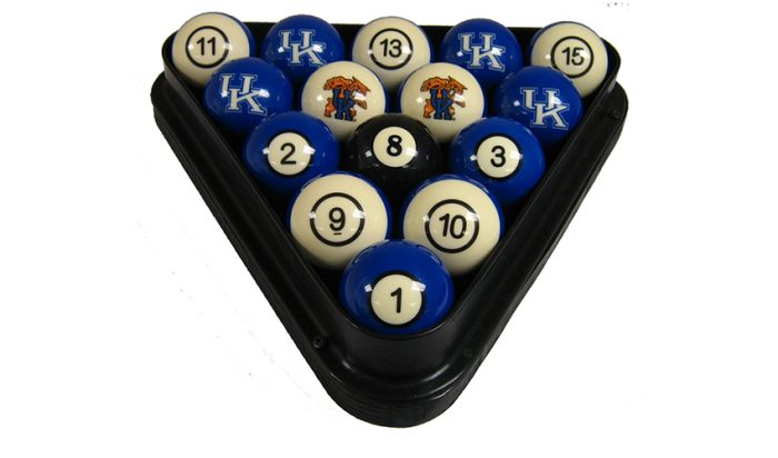 University of Kentucky Billiard Ball Set