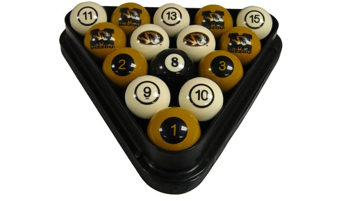 University of Missouri Billiard Ball Set