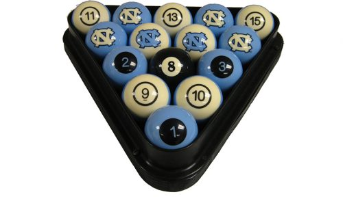 University of North Carolina Billiard Ball Set