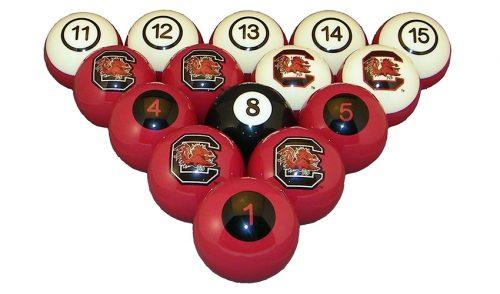 University of South Carolina Billiard Ball Set
