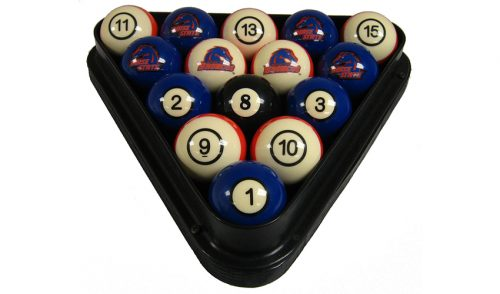 Boise State University Billiard Ball Set