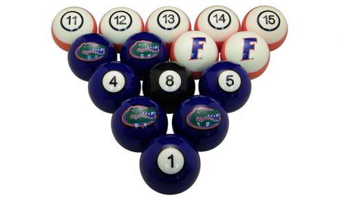 University of Florida Billiard Ball Set