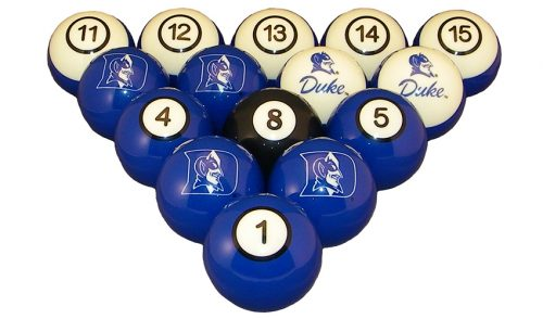 Duke University Billiard Ball Set
