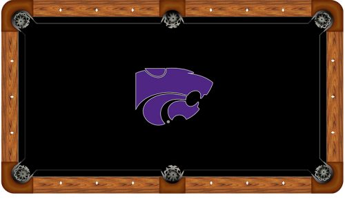 Kansas State University Logo Billiard Cloth