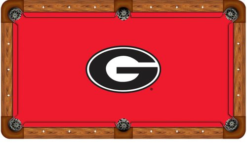 University of Georgia Logo Billiard Cloth