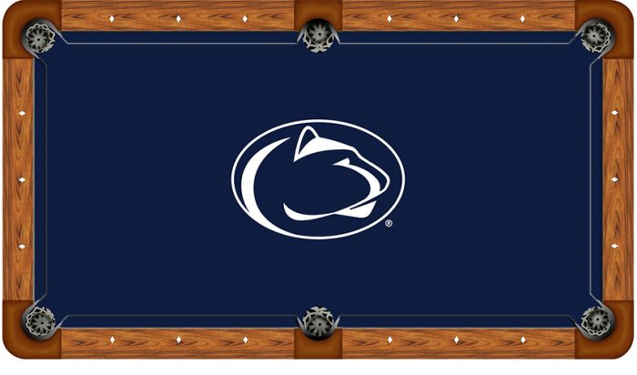Pennsylvania State University Logo Billiard Cloth