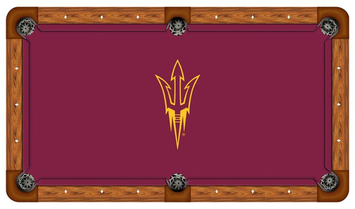 Arizona State University Logo Billiard Cloth