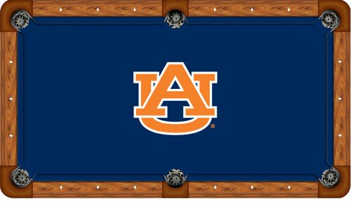 Auburn University Logo Billiard Cloth