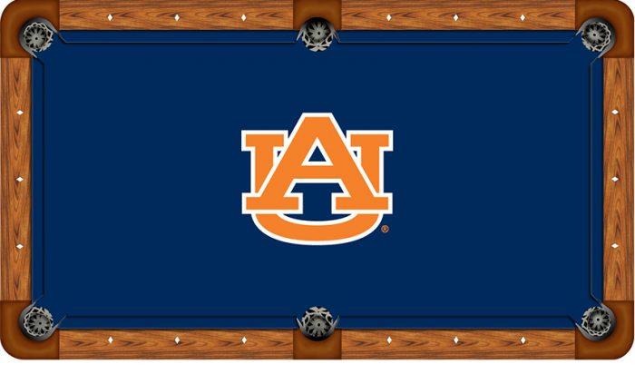 Auburn University Logo Billiard Cloth