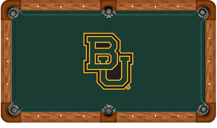Baylor University Logo Billiard Cloth