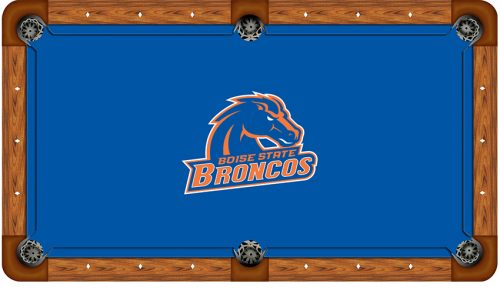 Boise State University Logo Billiard Cloth