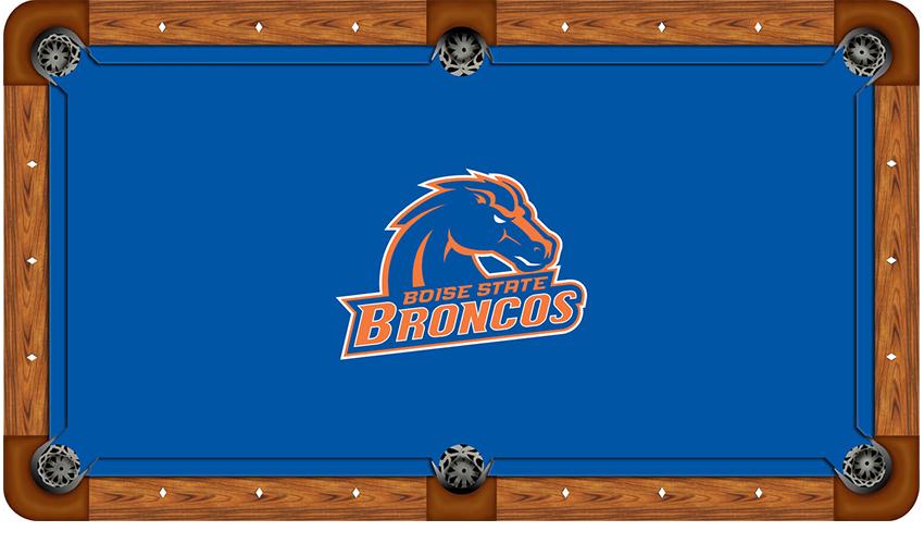 Boise State University Logo Billiard Cloth Affinity