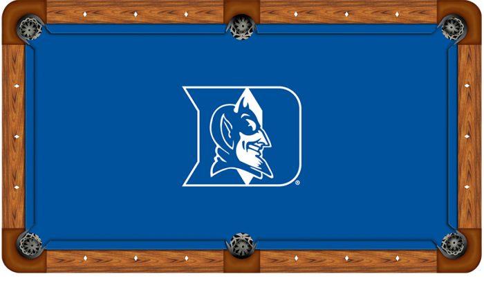 Duke University Logo Billiard Cloth