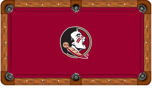 Florida State University Logo Billiard Cloth