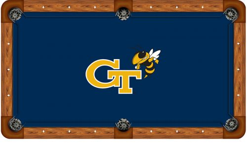 Georgia Tech Logo Billiard Cloth