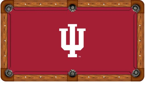 Indiana University Logo Billiard Cloth