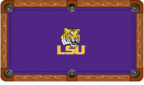 Louisiana State University Logo Billiard Cloth